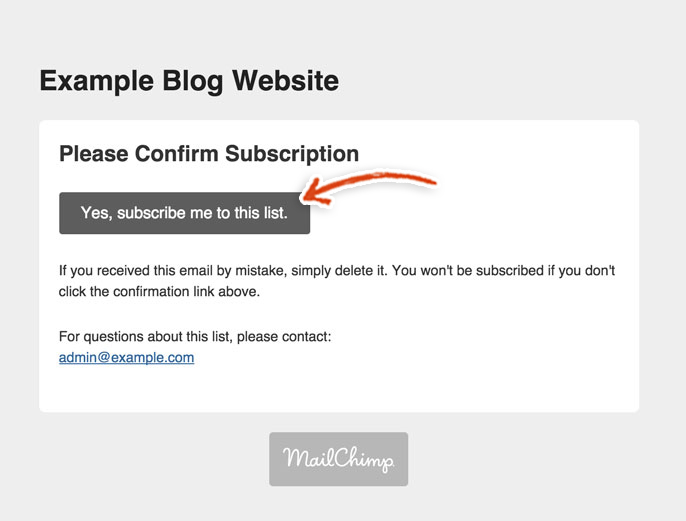 mailchimp-confirm-subscription-email