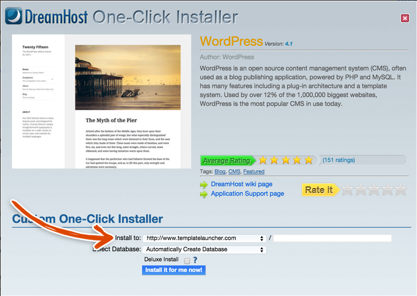 dreamhost-one-click-wordpress-installer