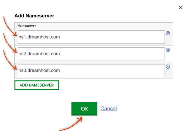 godaddy-add-nameserver-ok