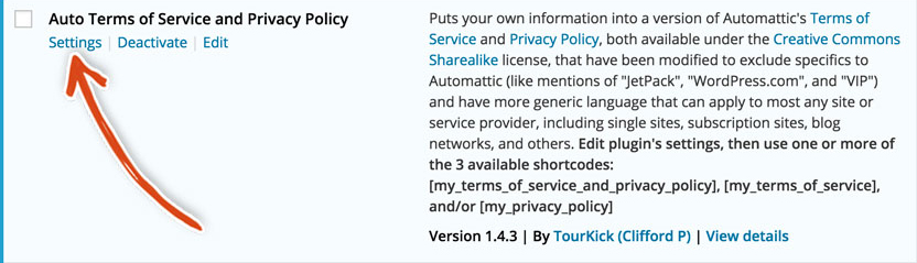 wordpress-auto-terms-of-service-and-privacy-policy-settings