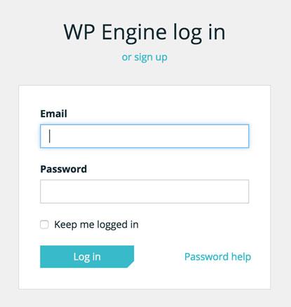 wpengine-login