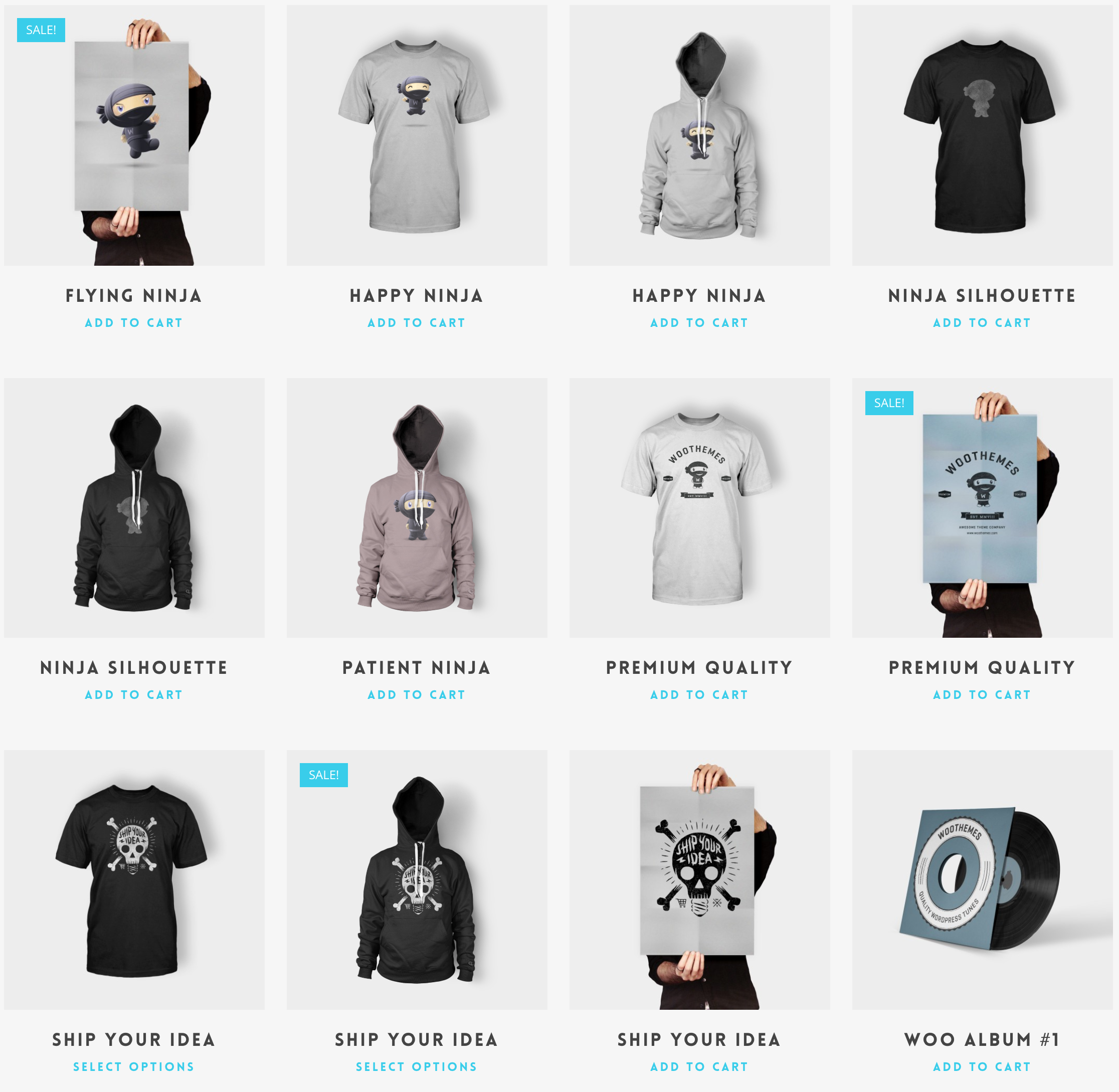 Import Woocommerce Products into a Demo WordPress site